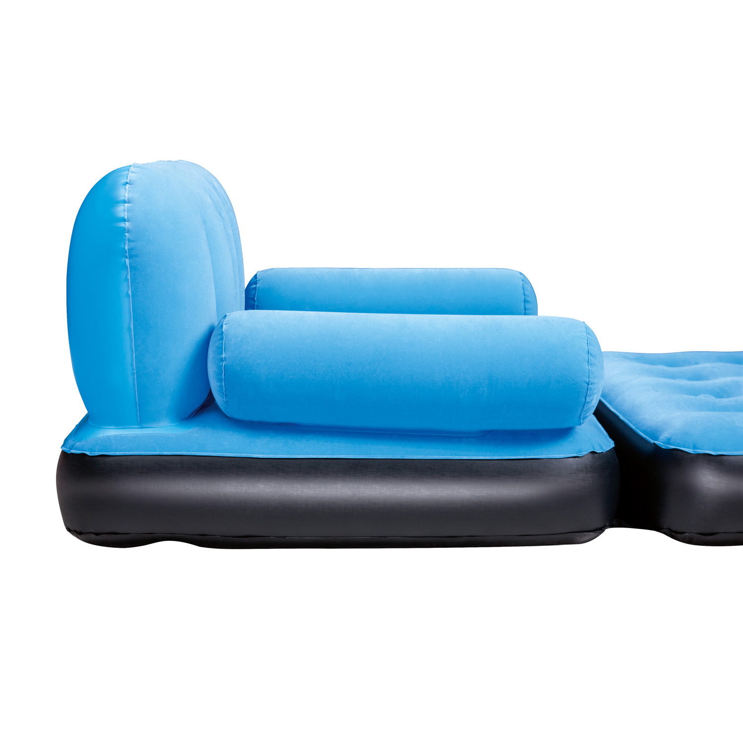 Inflatable Sofa Air Bed Lounger: Inflatable Sofa Bed Double Airbed Couch Blow Up Lounger
